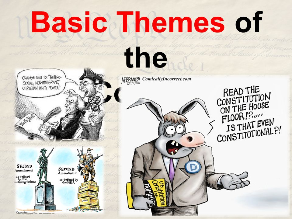 Basic Themes of the U.S. Constitution