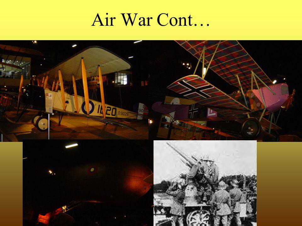 Air War Cont…