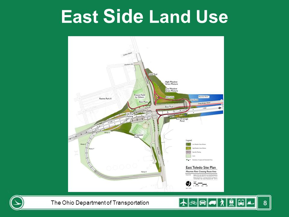 East Side Land Use The Ohio Department of Transportation 8 FORD ROAD