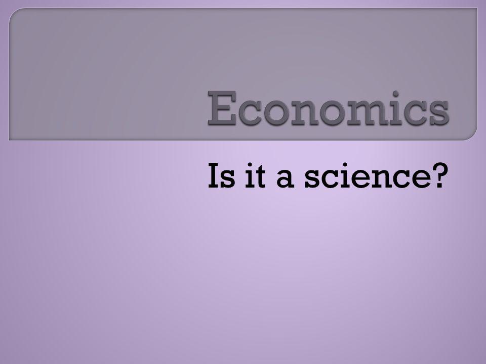 Is it a science