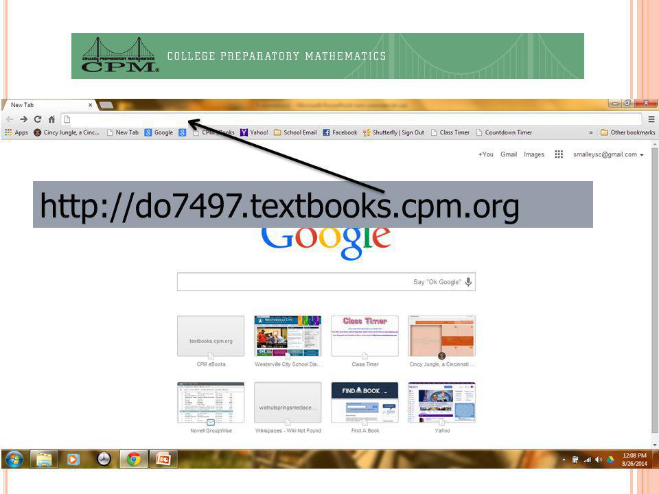 http://do7497.textbooks.cpm.org 10