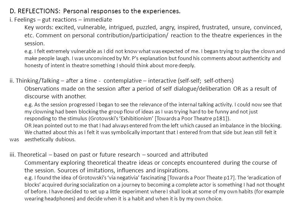 Ensemble Making EnsembleJournal Theatre in the making Action plan
