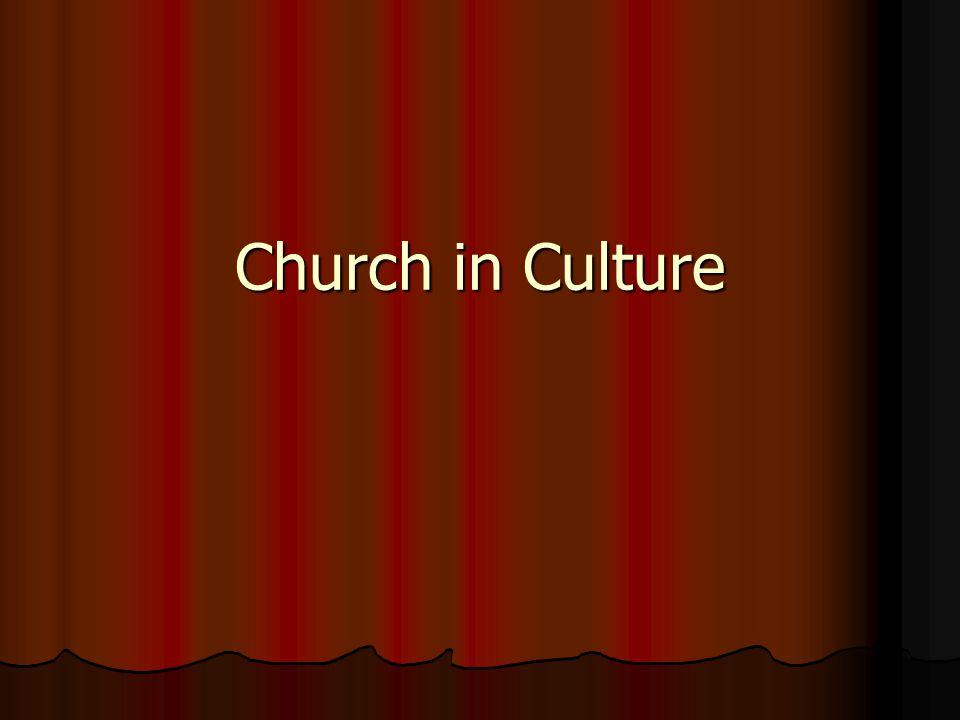 Church in Culture