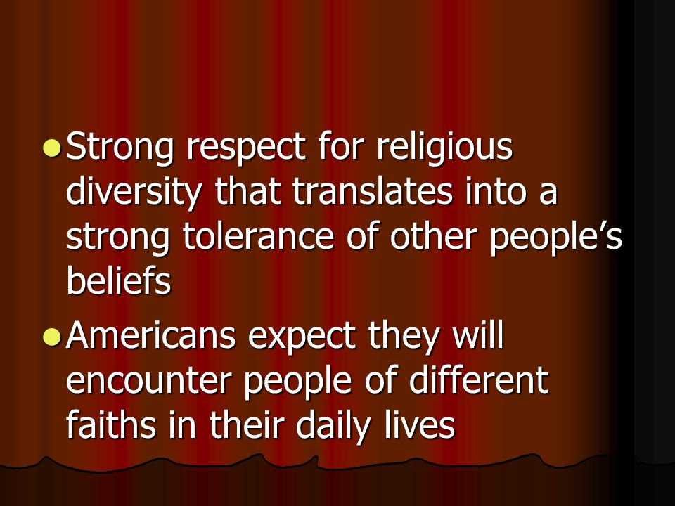 Groups in the minority, such as Jewish or nonreligious Americans, are more cautious about religion gaining more influence in society Groups in the minority, such as Jewish or nonreligious Americans, are more cautious about religion gaining more influence in society