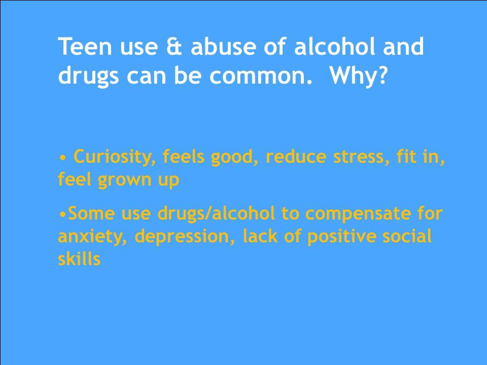 Teen Mental Health & Substance Abuse
