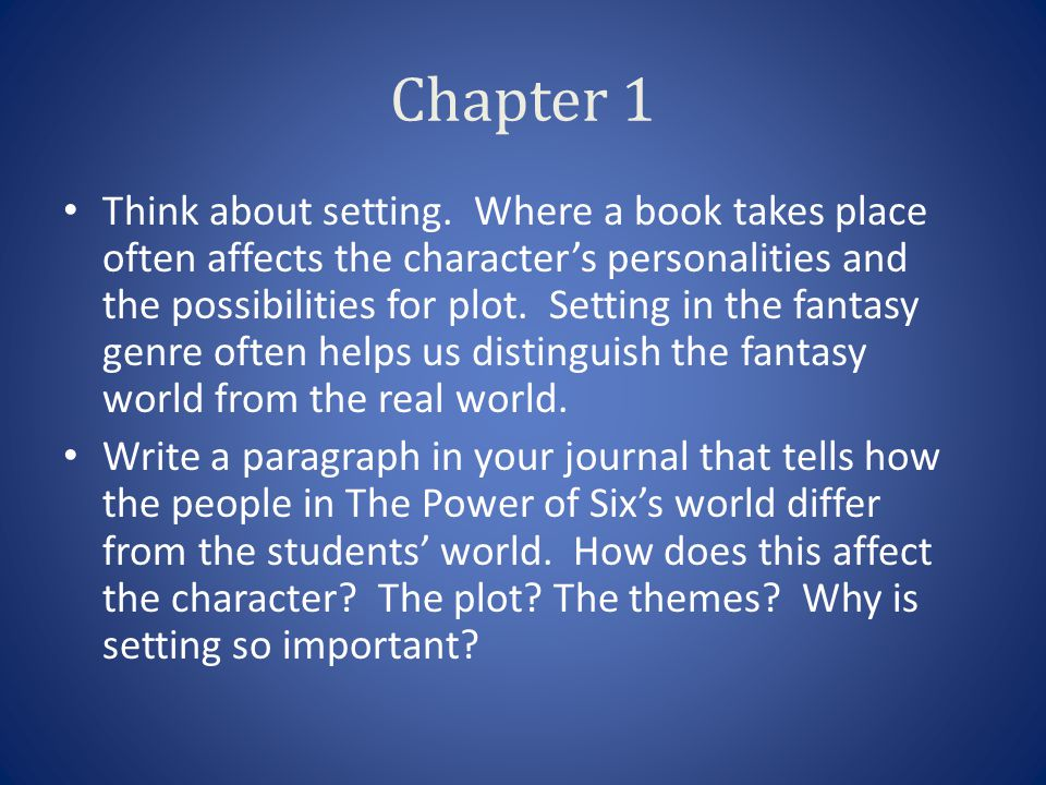 Characters 2.Group work.