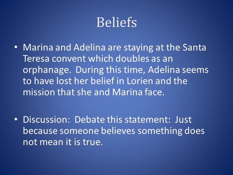 Chapter 22-24 7.What does Ella tell Marina Ella had seen.