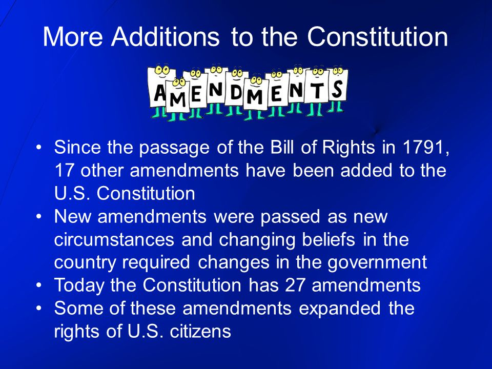 Rights of U.S.Citizens Civil Rights = the rights guaranteed to all U.S.