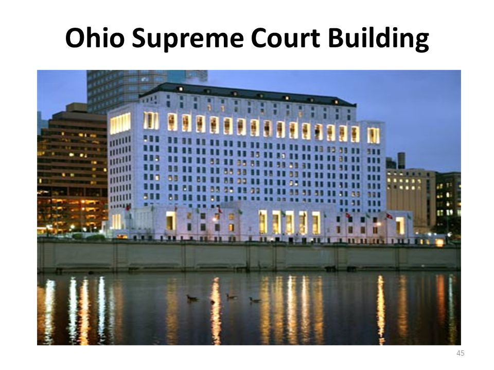 Ohio Supreme Court Building 45