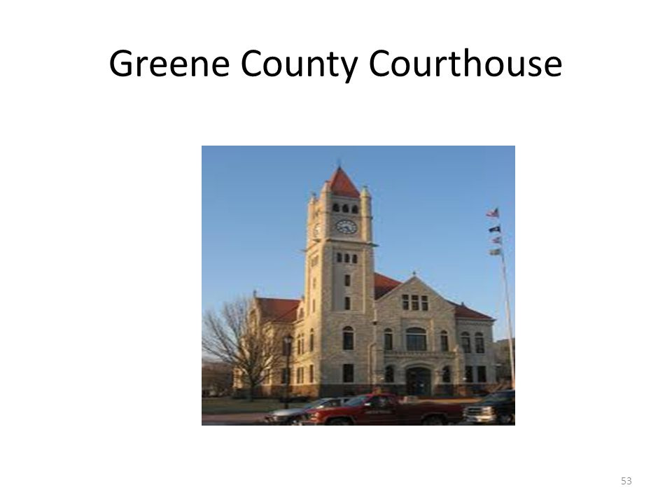 Greene County Courthouse 53