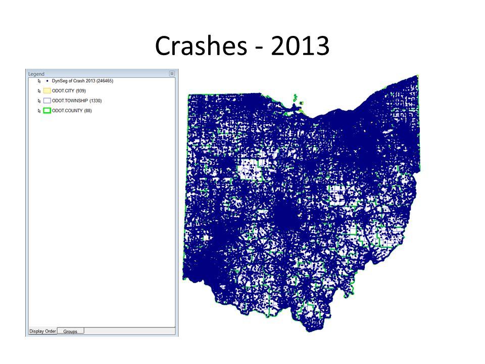 Crashes - 2013
