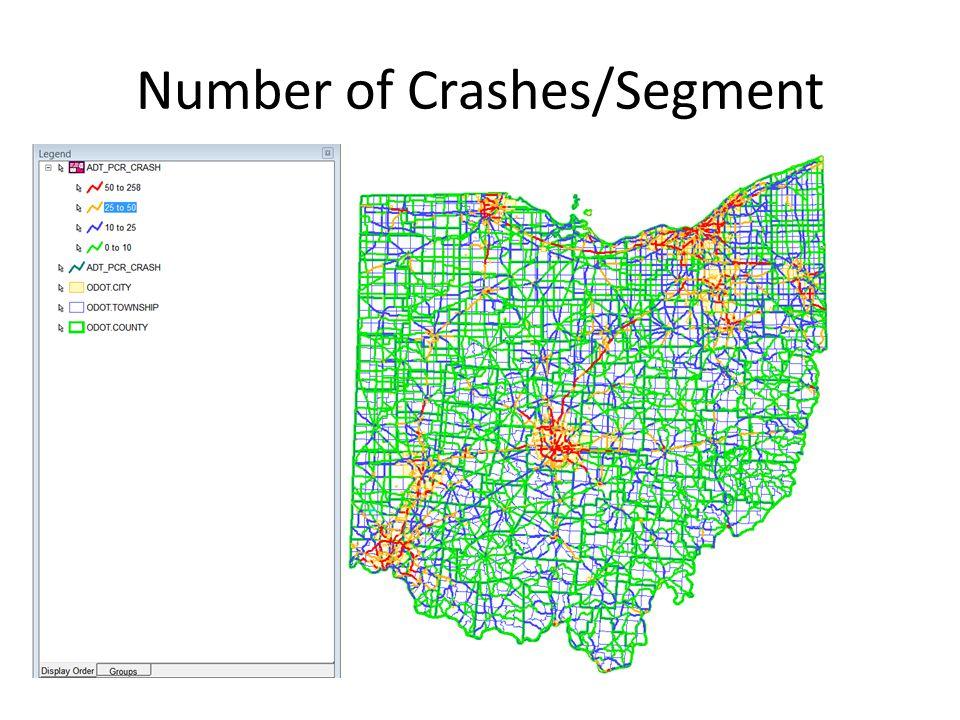 Number of Crashes/Segment