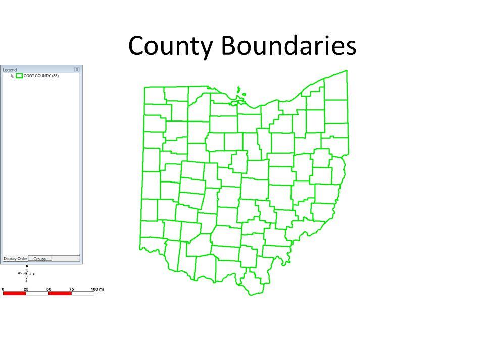 County Boundaries