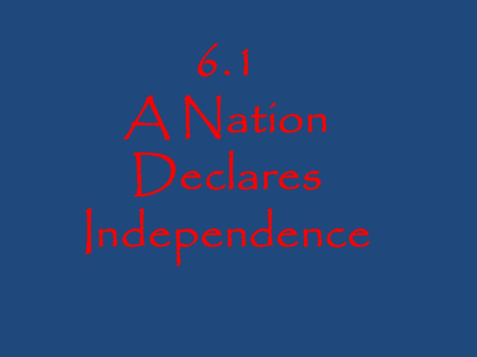 Warm up: The Treaty of Paris was signed to end the American Revolution.
