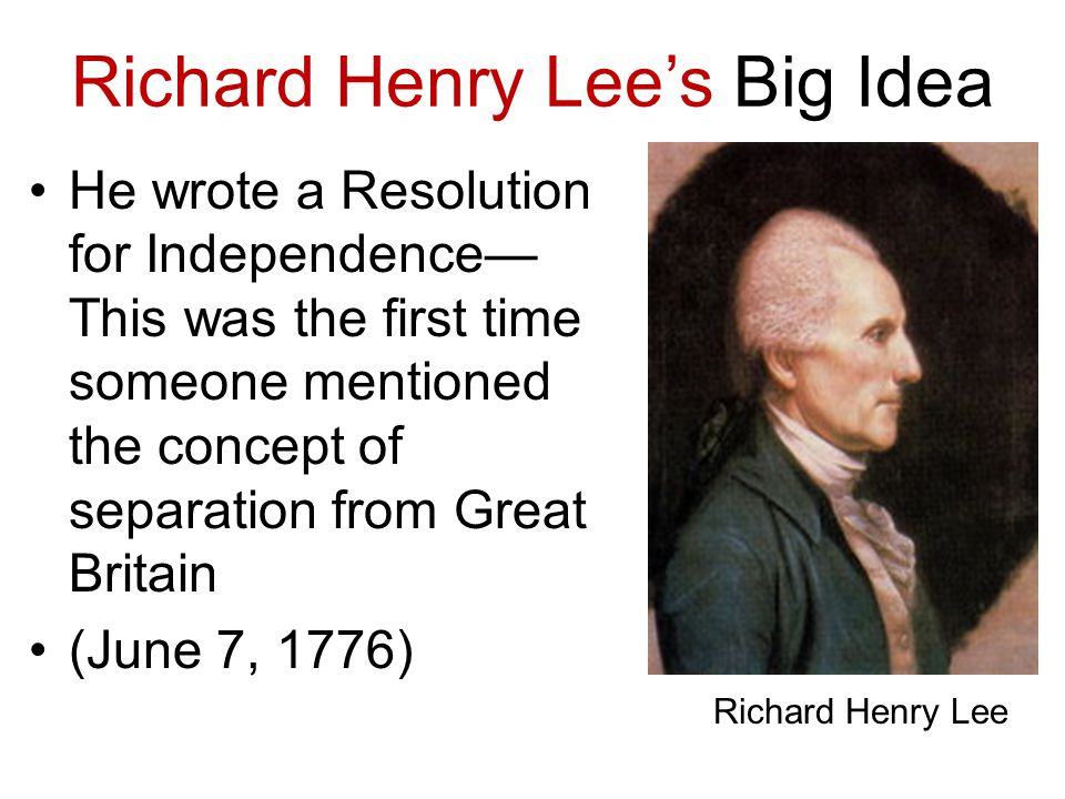 The Declaration of Independence In June of 1776, the Committee of Five (Members from The Second Continental Congress) decided to draft The Declaration of Independence.