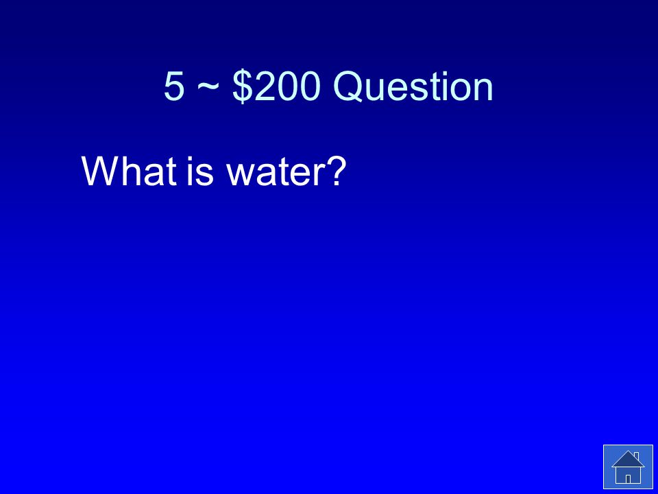 5 ~ $200 Answer The molecule that pays back the lost electrons from PSII.