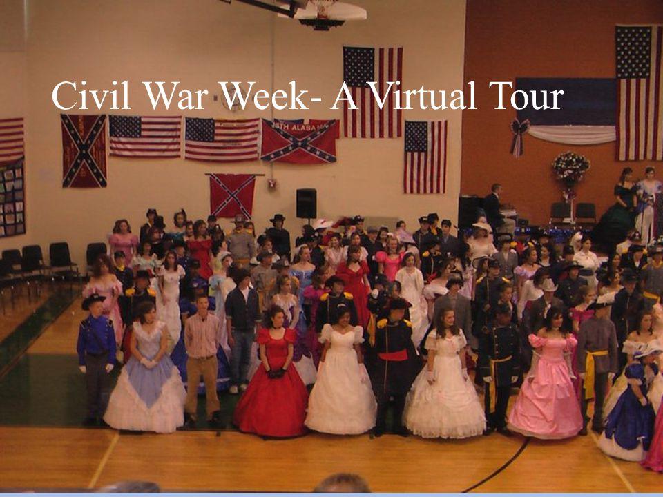 The Civil War Ball- A Virtual Tour Civil War Week- A Virtual Tour