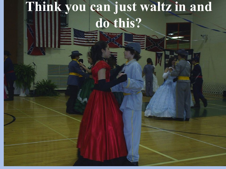 Think you can just waltz in and do this?