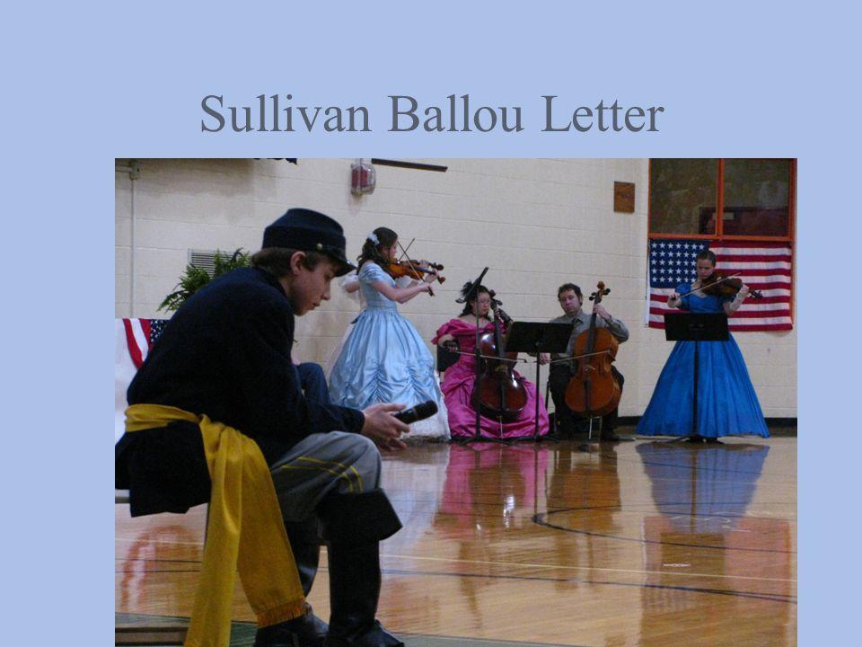 Sullivan Ballou Letter