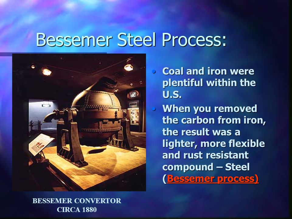 Why were iron and oil becoming more sought after.