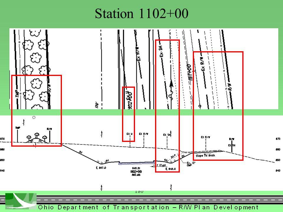 181 Station 1109+00
