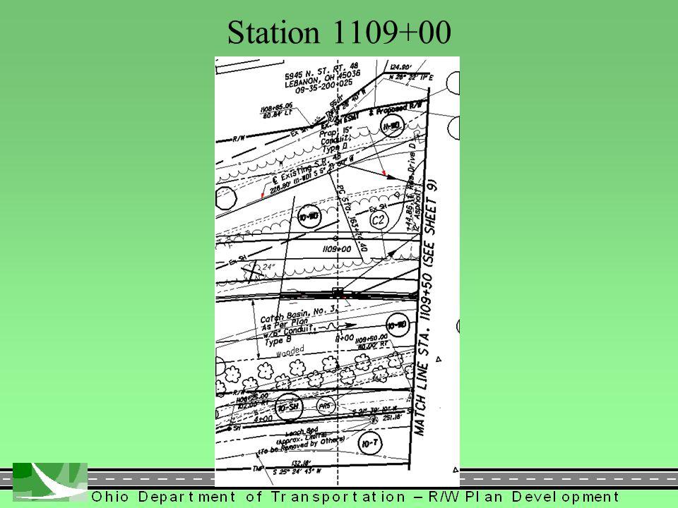 182 Station 1109+00
