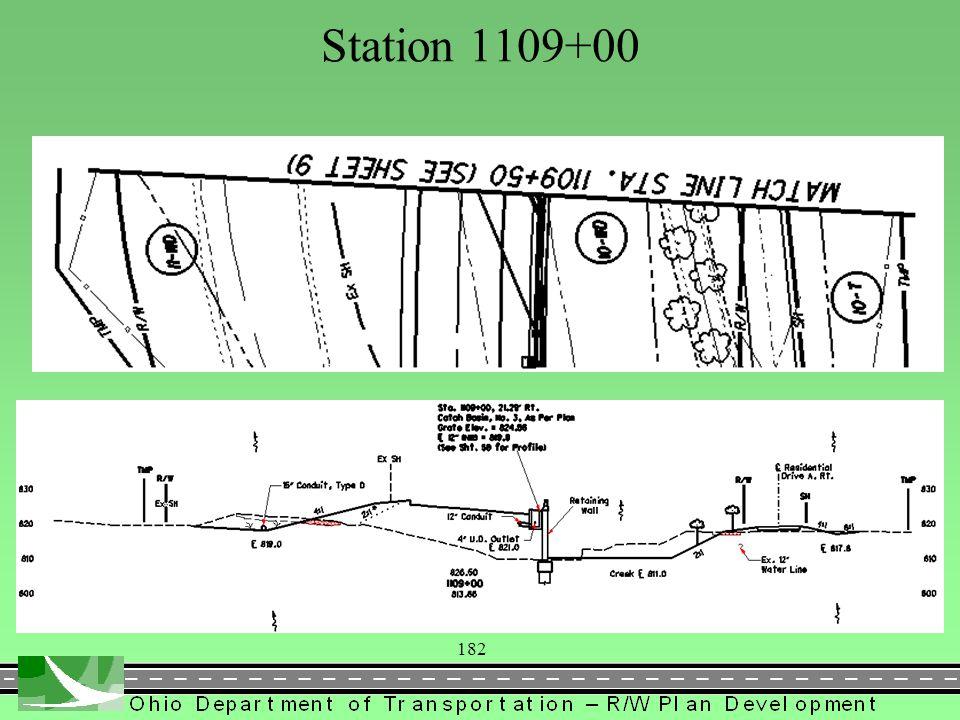 183 Station 1113+00