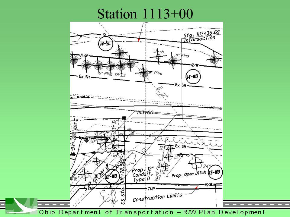 184 Station 1113+00