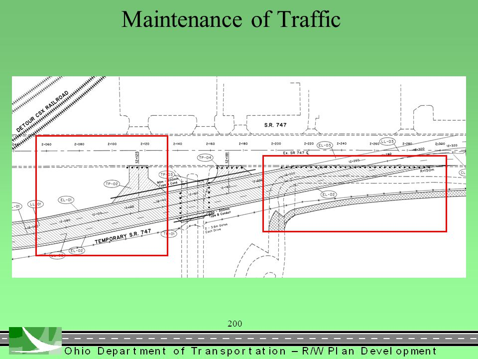 200 Maintenance of Traffic