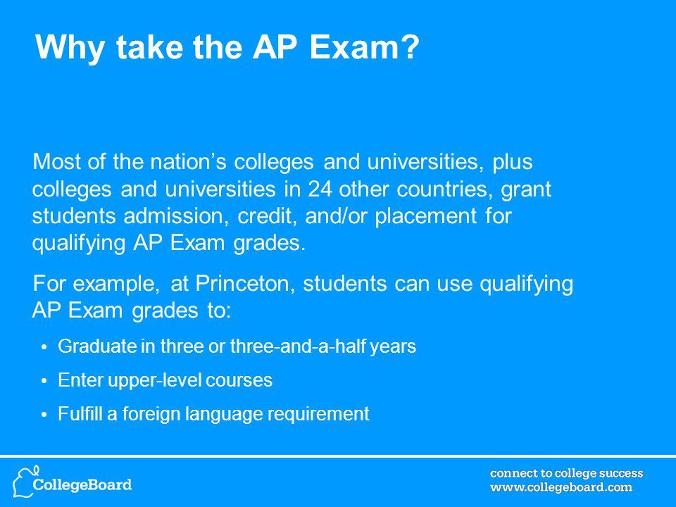 1.Go to www.collegeboard.com/ap/creditpolicy.