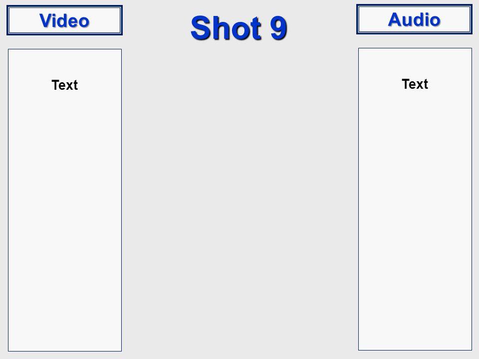 Video Audio Shot 9 Text