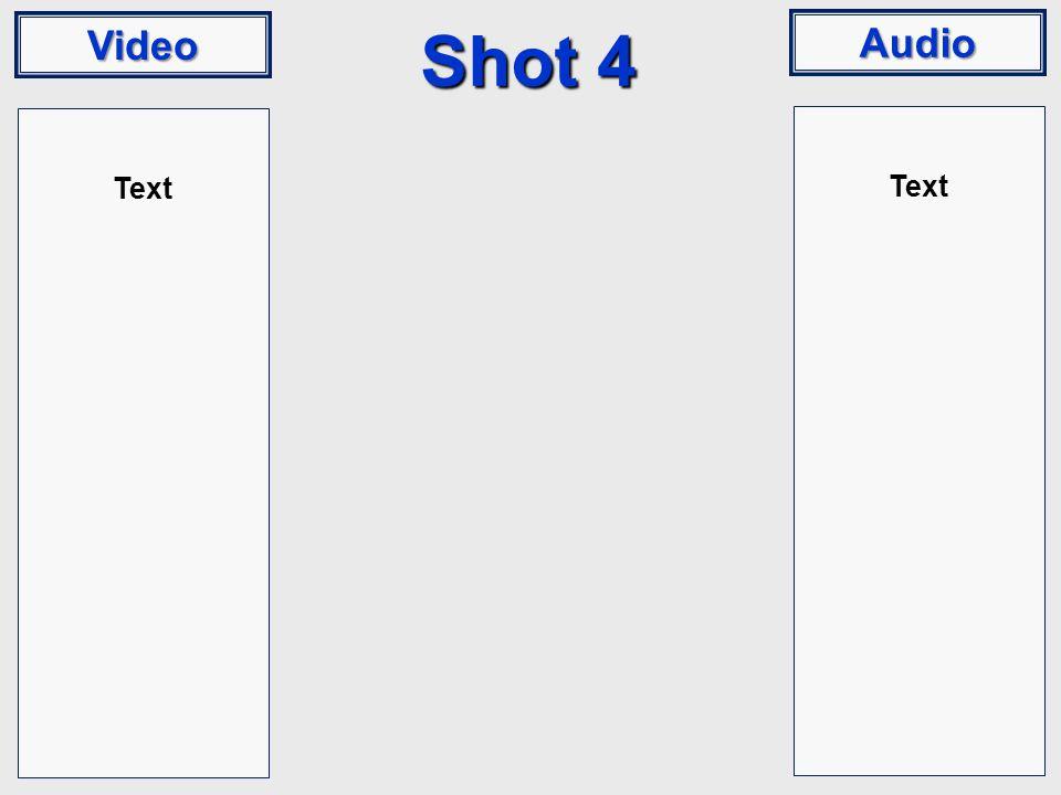 Video Audio Shot 4 Text