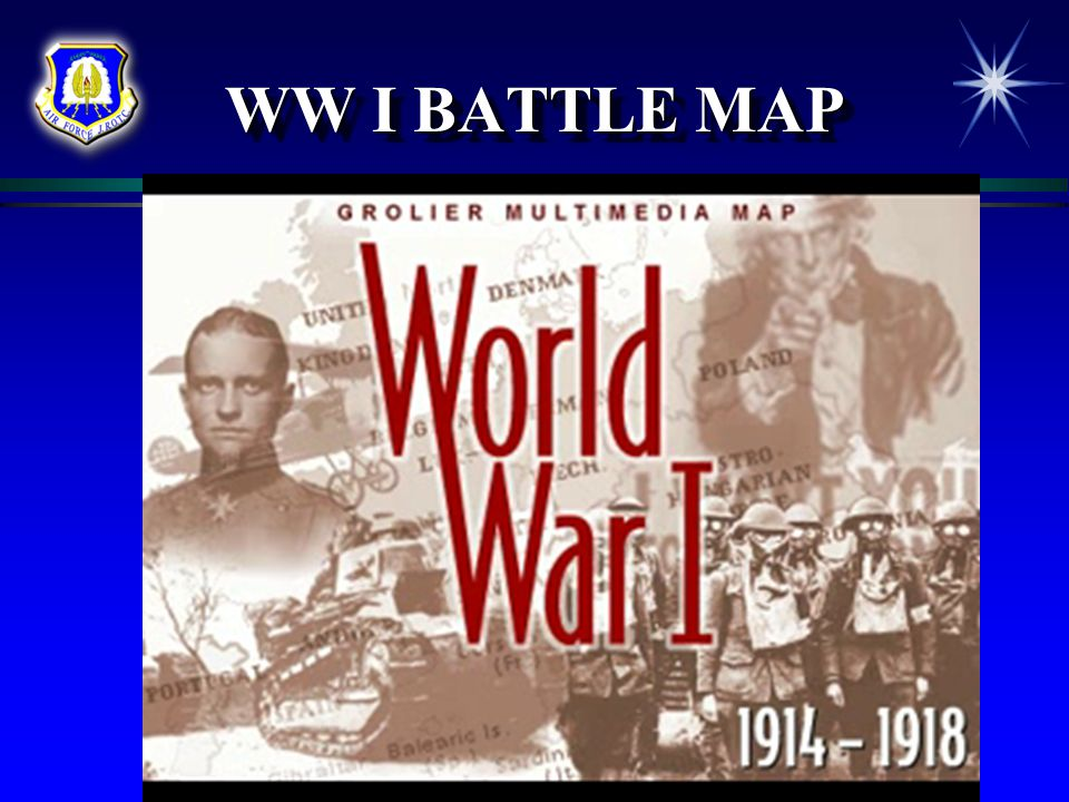 Outbreak of WWI  Because of alliances among different nations in Europe, one country after another soon declared war  Soon the Allies were at war against the Central Powers The AlliesThe Central Powers Russia Germany France Austria-Hungary Serbia Turkey Britain