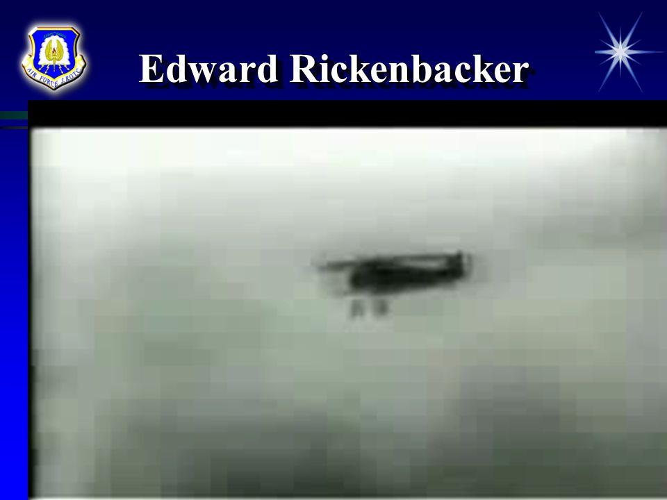 Edward Rickenbacker Courtesy of Bettman/Corbis