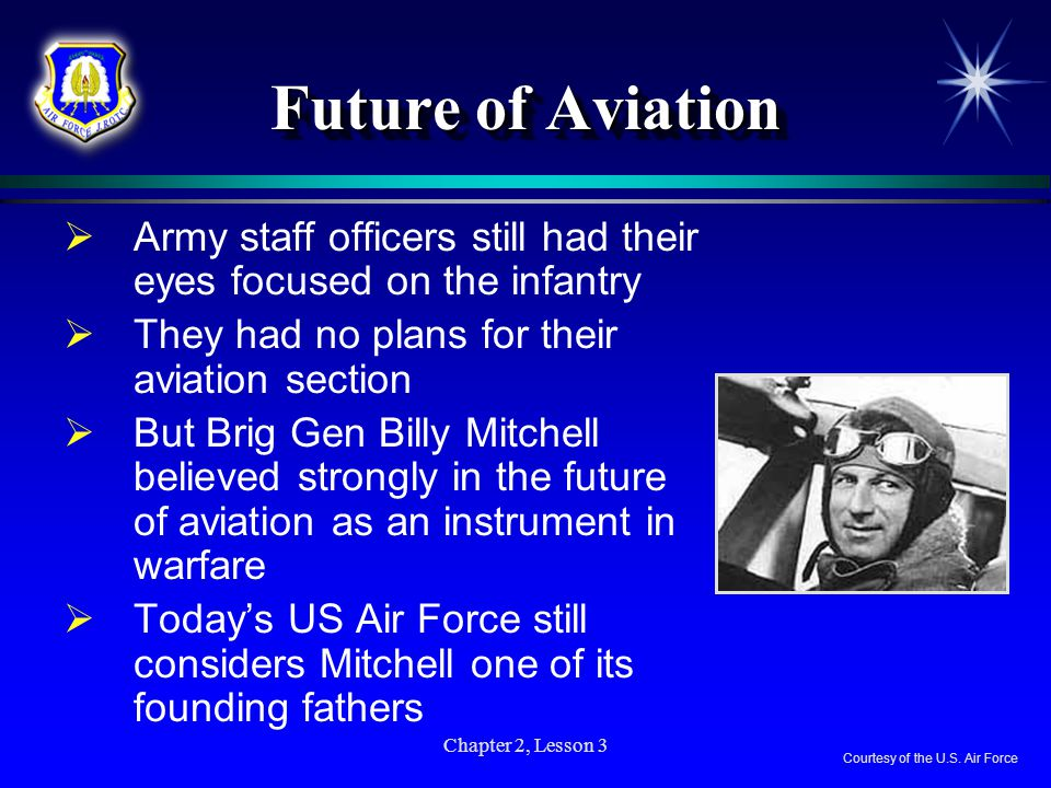 Chapter 2, Lesson 3 Why War Sped Up US Aviation Development  Congress appropriated $64 million for airplanes in 1917  At that time the United States was far behind other nations in air power  Curtiss Aircraft was the only aviation manufacturer in the country