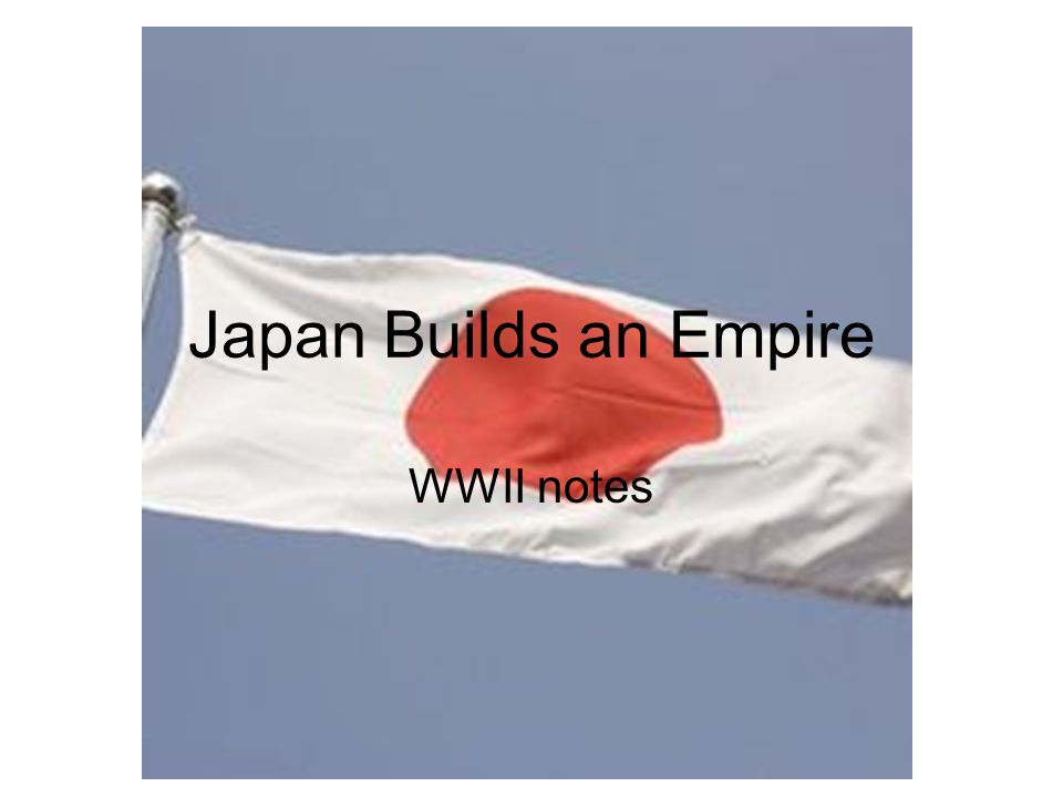 During WWI Japan joined the Allies Conquered several areas in the pacific After the war they began a parliamentary system and increased the number of people who could vote Helped found the League of Nations –Pledged to solve all disagreements peacefully (Kellogg-Briand Pact)