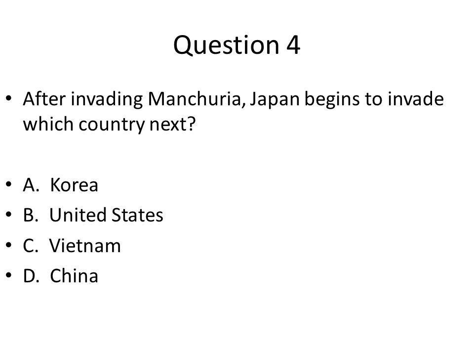 Question 5 What is the nickname given after the city of Nanjing after it fell to the Japanese in 1937.