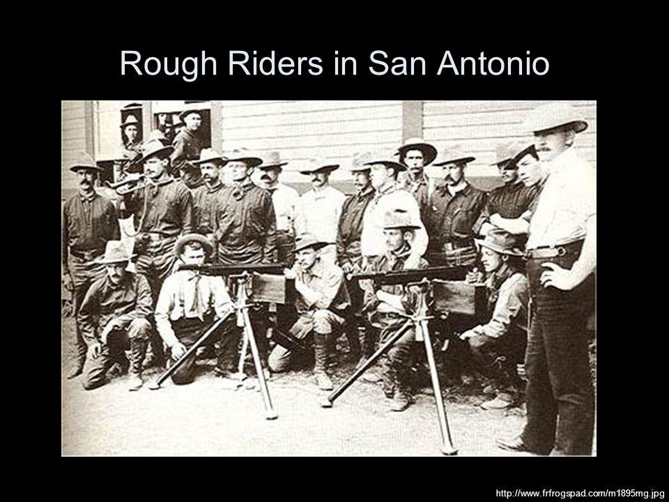 Rough Riders in San Antonio http://www.frfrogspad.com/m1895mg.jpg