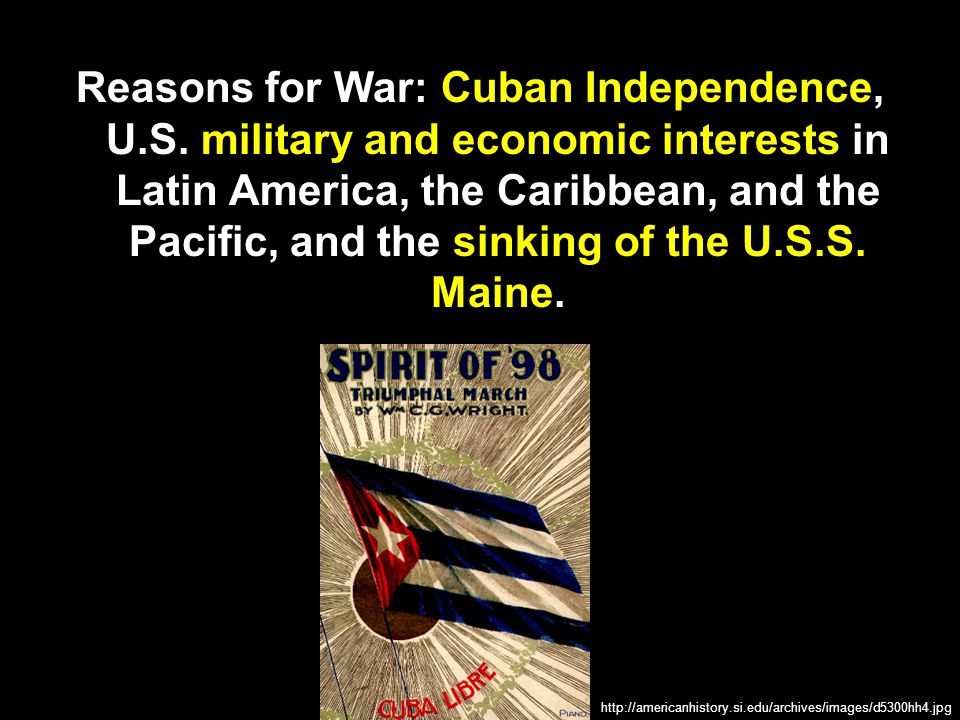 In June 1898, American forces landed in Cuba.