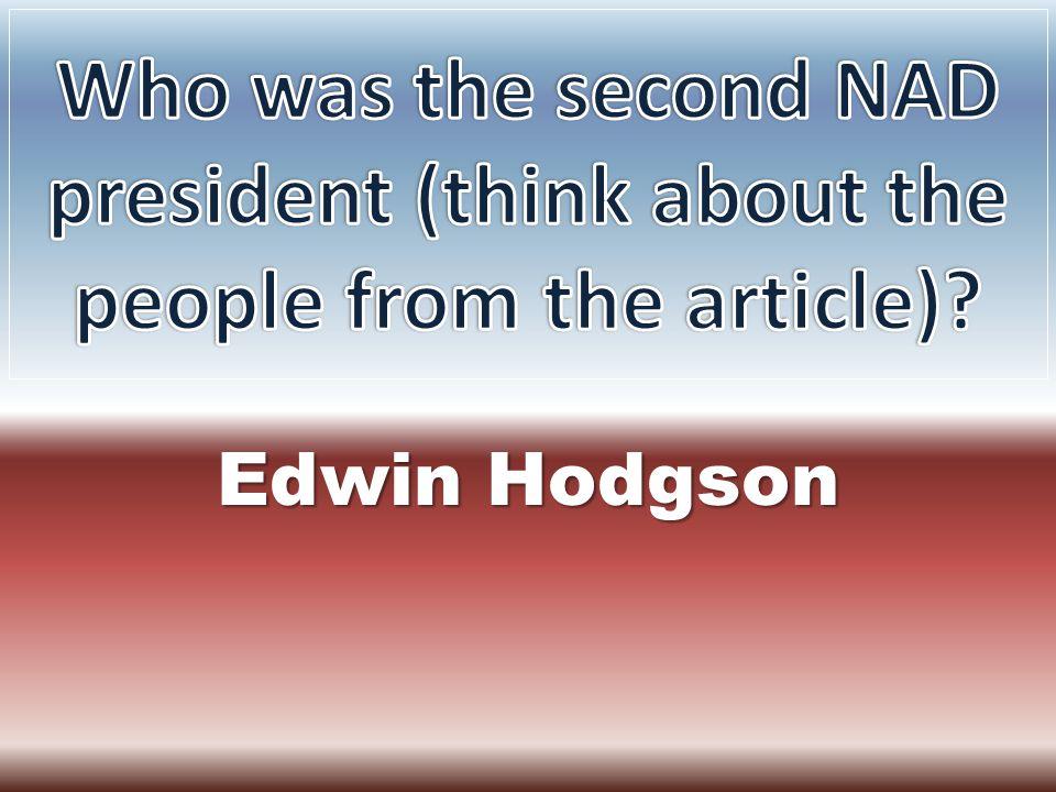 Edwin Hodgson