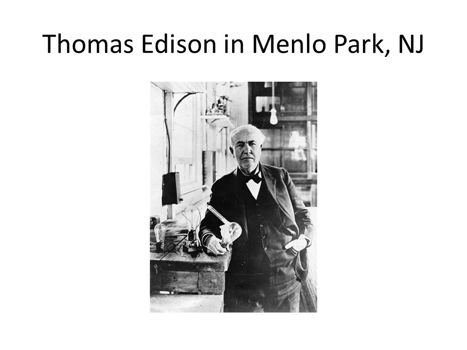 1.Thomas Edison, introduces the phonograph in 1877 2.Best known for his work with electricity 3.In 1880, Edison produced light in a sealed glass bulb