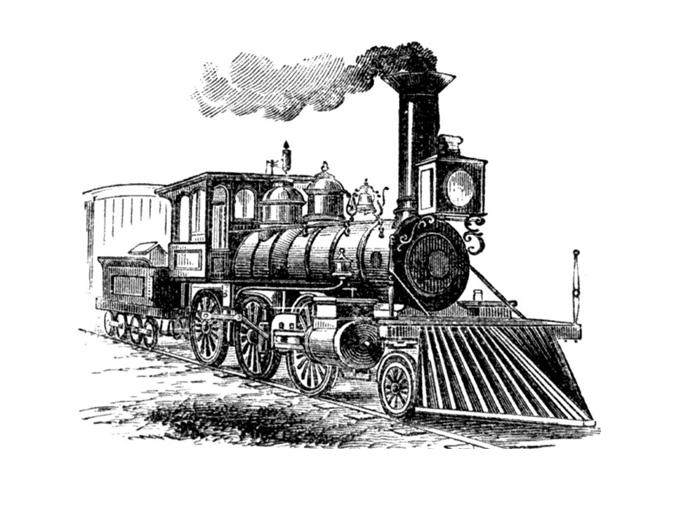 Railroads – 1828 Baltimore and Ohio Line (B & O) Advances in communication came next, postal service, regular mail delivery
