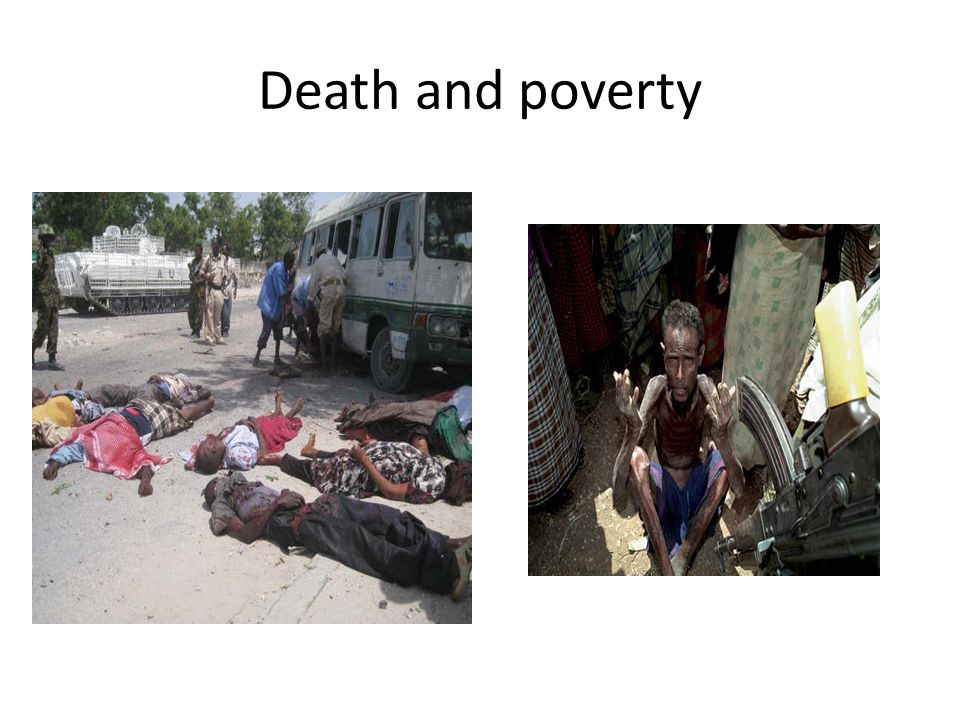 Death and poverty
