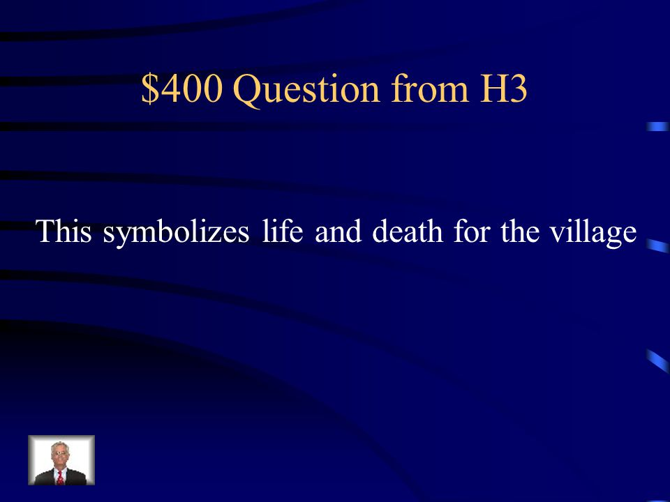 $300 Answer from H3 Suspence