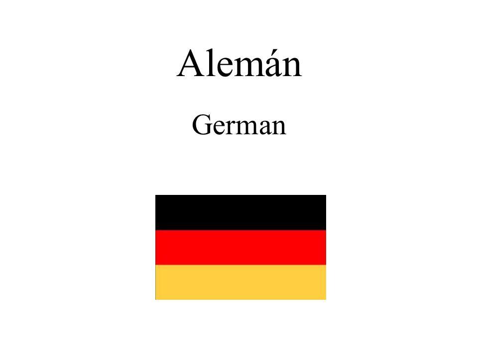Alemán German