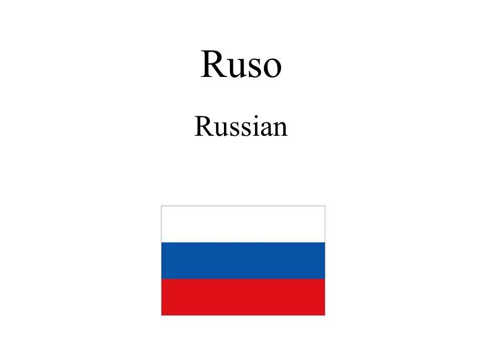 Ruso Russian