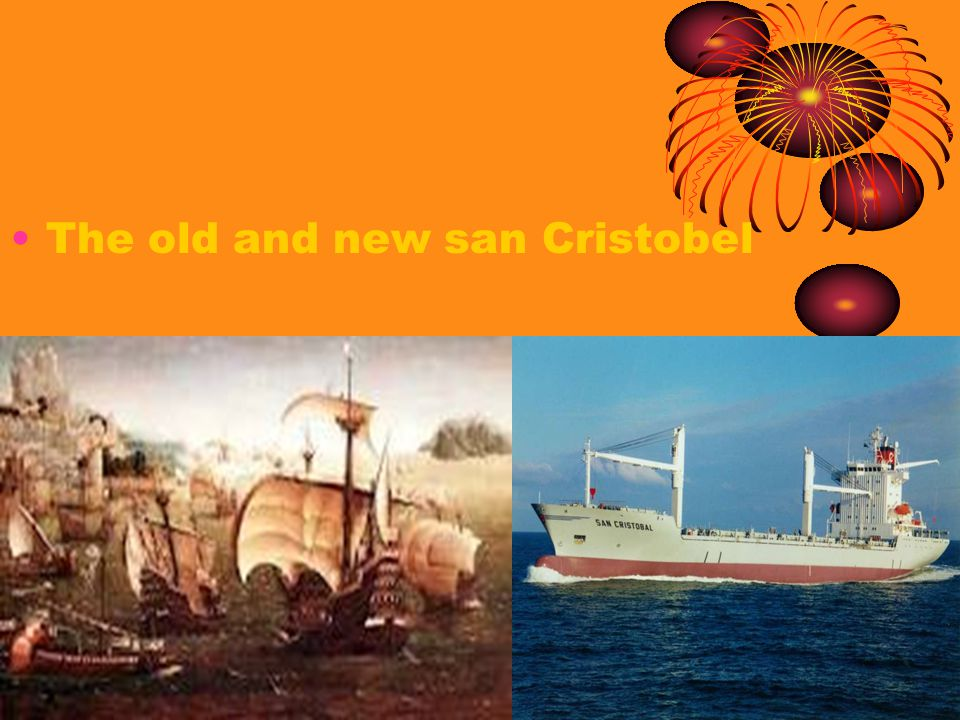 The old and new san Cristobel