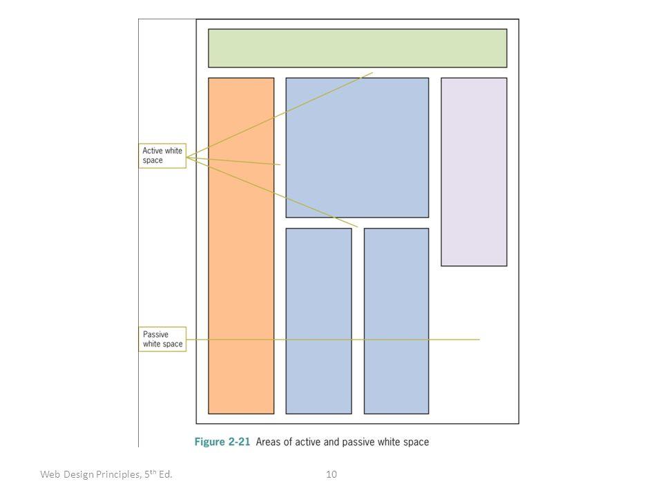 10Web Design Principles, 5 th Ed.