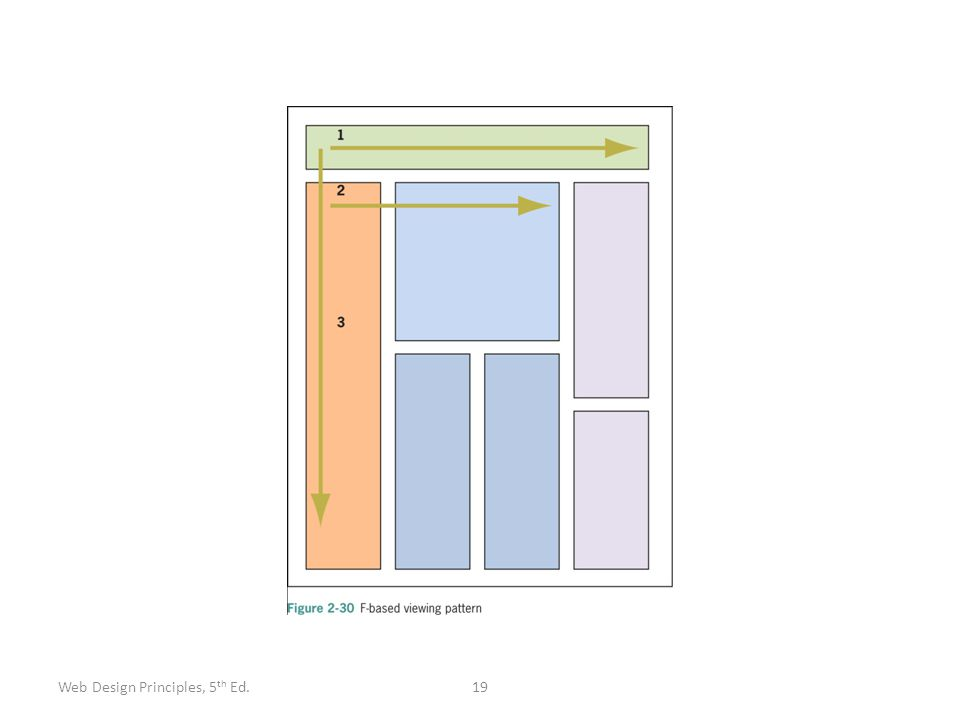 19Web Design Principles, 5 th Ed.