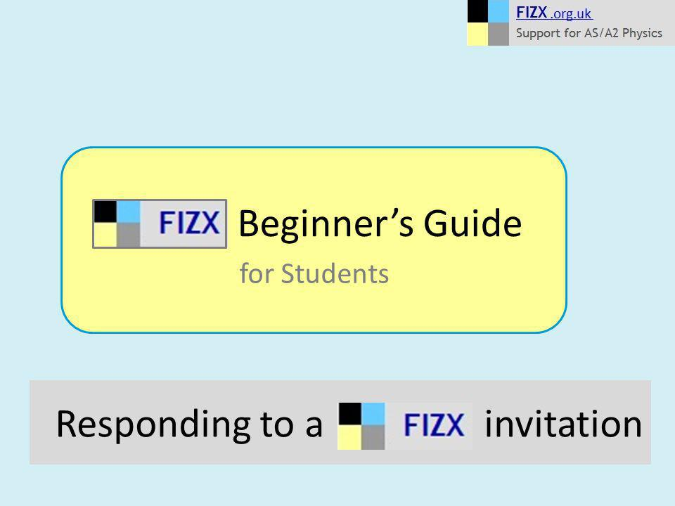 Responding to a invitation Beginner's Guide for Students